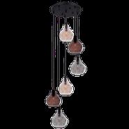 Bright Star Deoiridh Cluster Glass Pendant Light