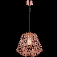 Bright Star Ann Maze Copper Pendant Light