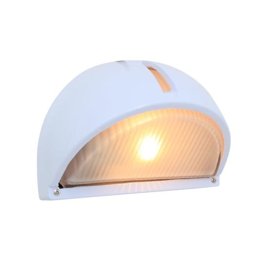 Eurolux Lemon Wedge White Bulkhead Light