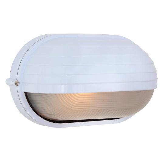 Eurolux Oval Large Eyelid White Bulkhead Light