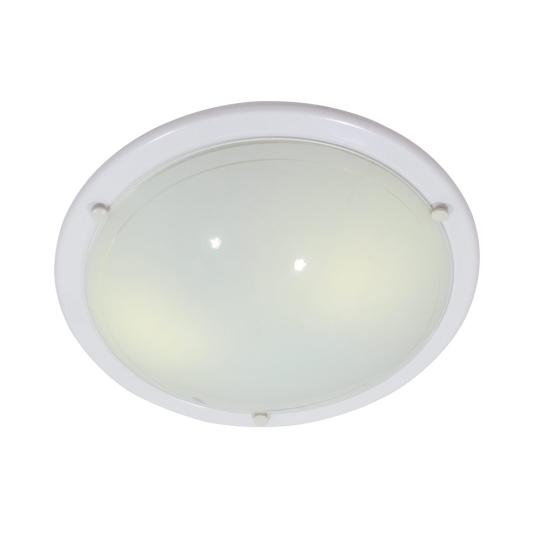 Eurolux Italian 400mm White Flush Mount Ceiling Light