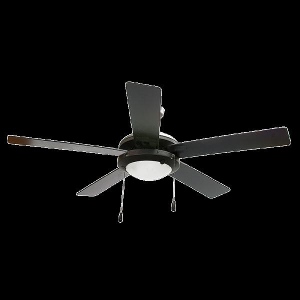 Bright Star FCF004 BLACK Ceiling Fan With Light