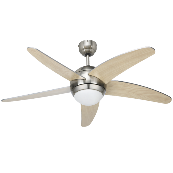 Bright Star FCF007 SATIN Ceiling Fan with Light