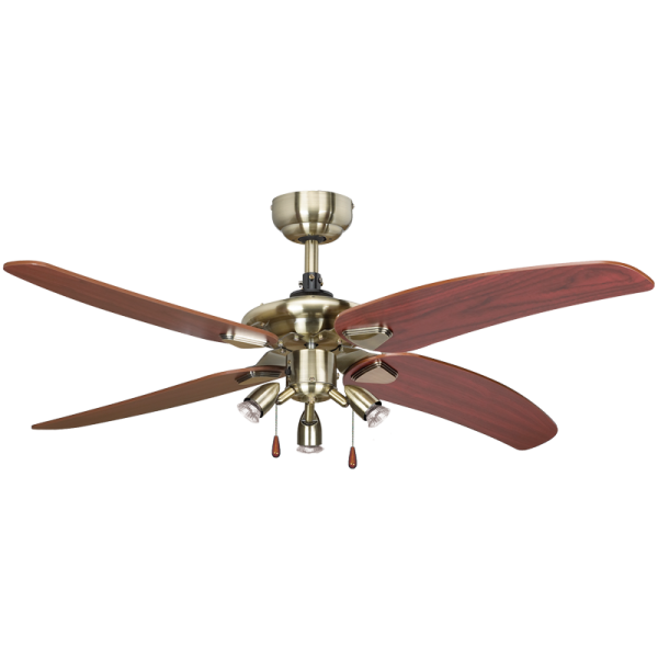 Bright Star FCF008 ANTIQUE Ceiling Fan with light