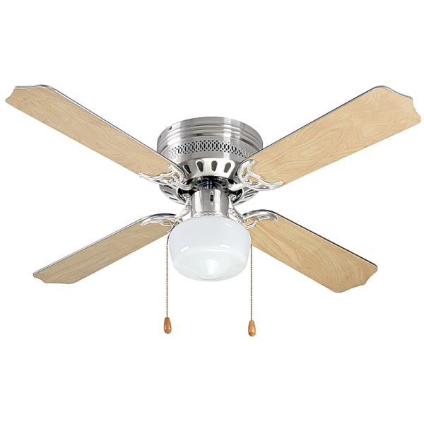 Bright Star FCF010 SATIN Ceiling Fan with Light
