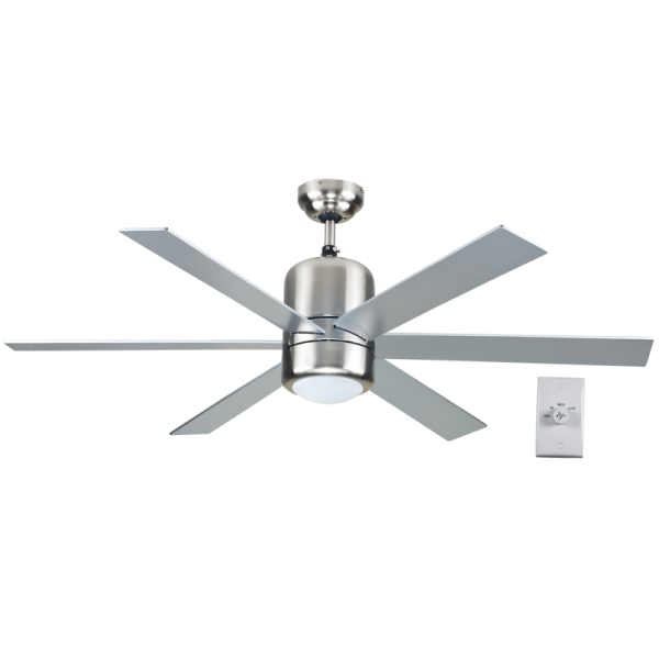 Bright Star FCF030 SATIN Ceiling Fan with Light