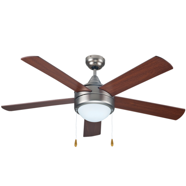 Bright Star FCF032 MATT NICKEL Ceiling Fan with Lights