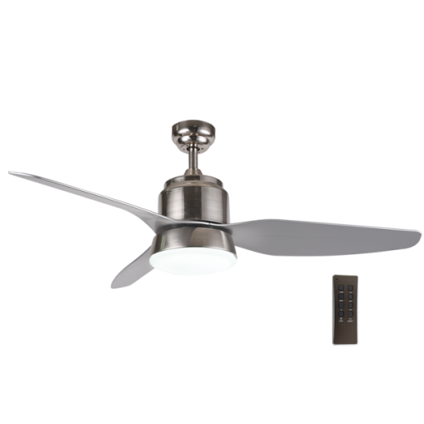 Bright Star FCF041 SATIN Ceiling Fan with Lights