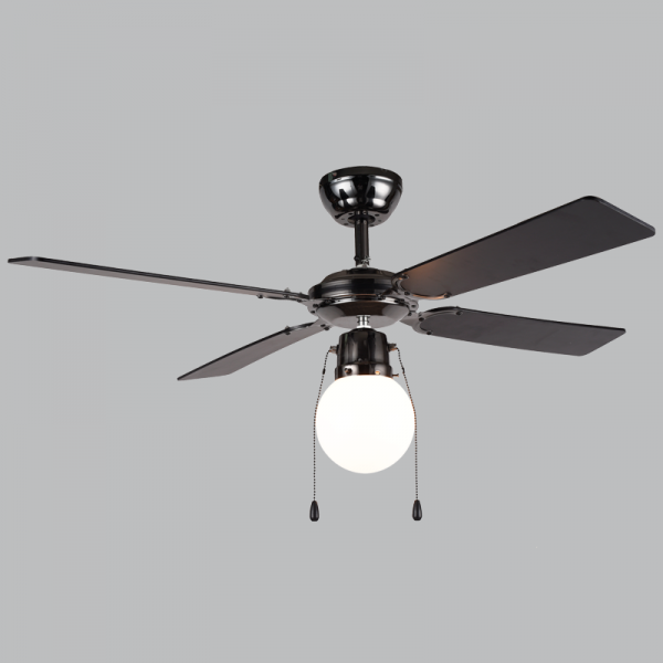 Bright Star FCF042 GUN METAL Ceiling Fan with Light