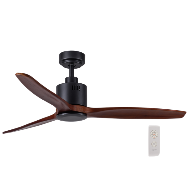 Bright Star FCF045 BLACK WOOD Ceiling Fan
