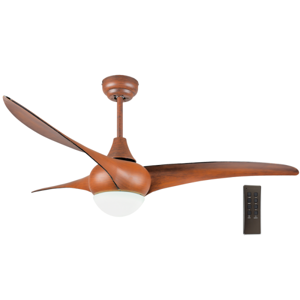 Bright Star FCF048 WOOD Ceiling Fan with Light