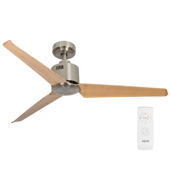 Bright Star FCF053 SATIN Ceiling Fan