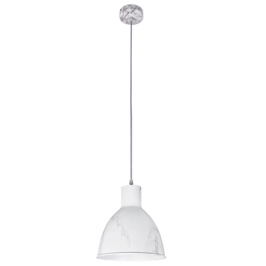 Bright Star Blair Marble Finish Pendant Light