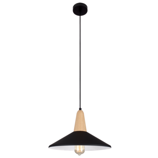 Bright Star Annis Black Pendant Light