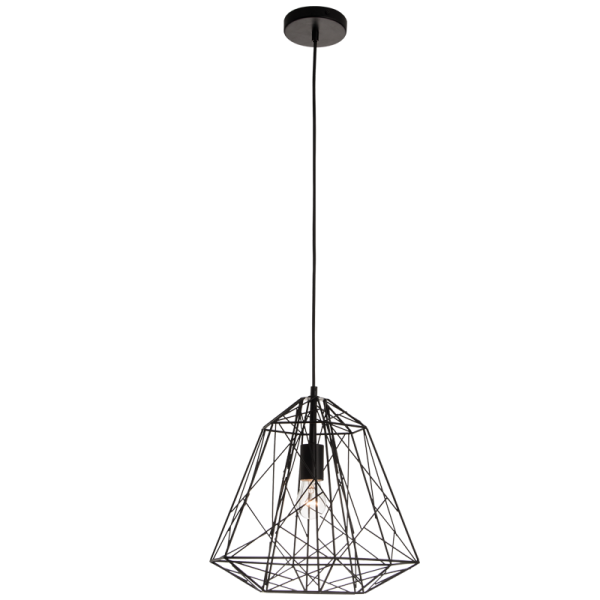 Bright Star Ann Maze Black Pendant Light