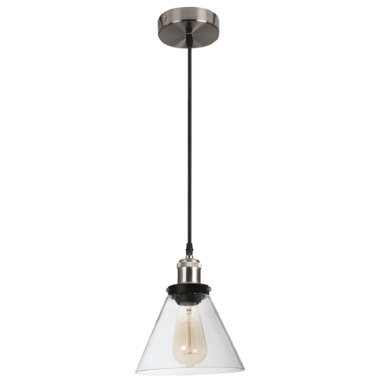 Bright Star Aileen Cone Glass Pendant light